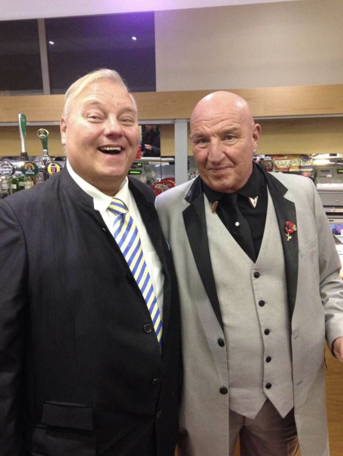 Aquarium Lou & Dave Courtney